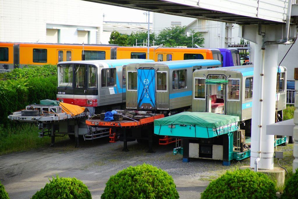 【ニュートラム】100A系32編成(100-32F)、廃車陸送へ