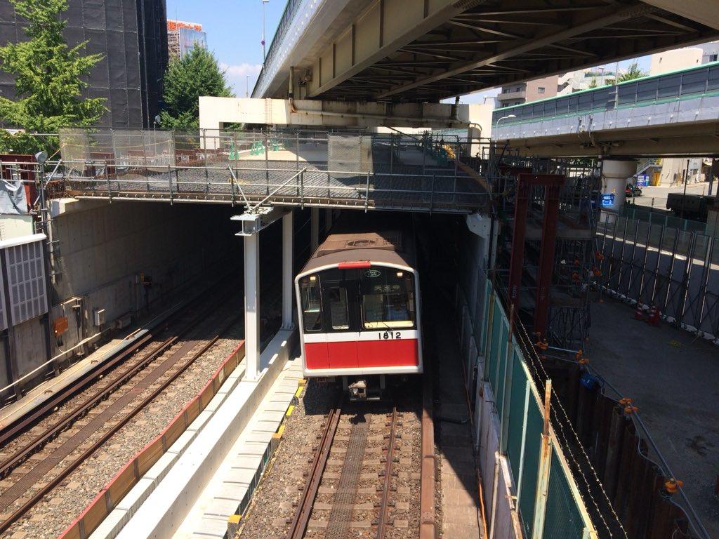 【御堂筋線】中津-西中島南方間、U型隧道の津波・浸水対策工事が進む