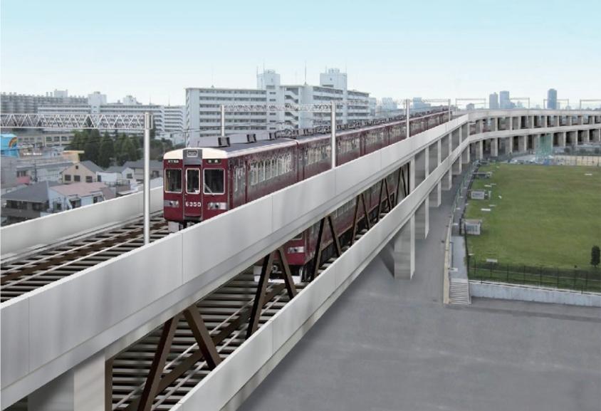 【2018/10】淡路駅周辺の立体高架化工事状況を見てきました