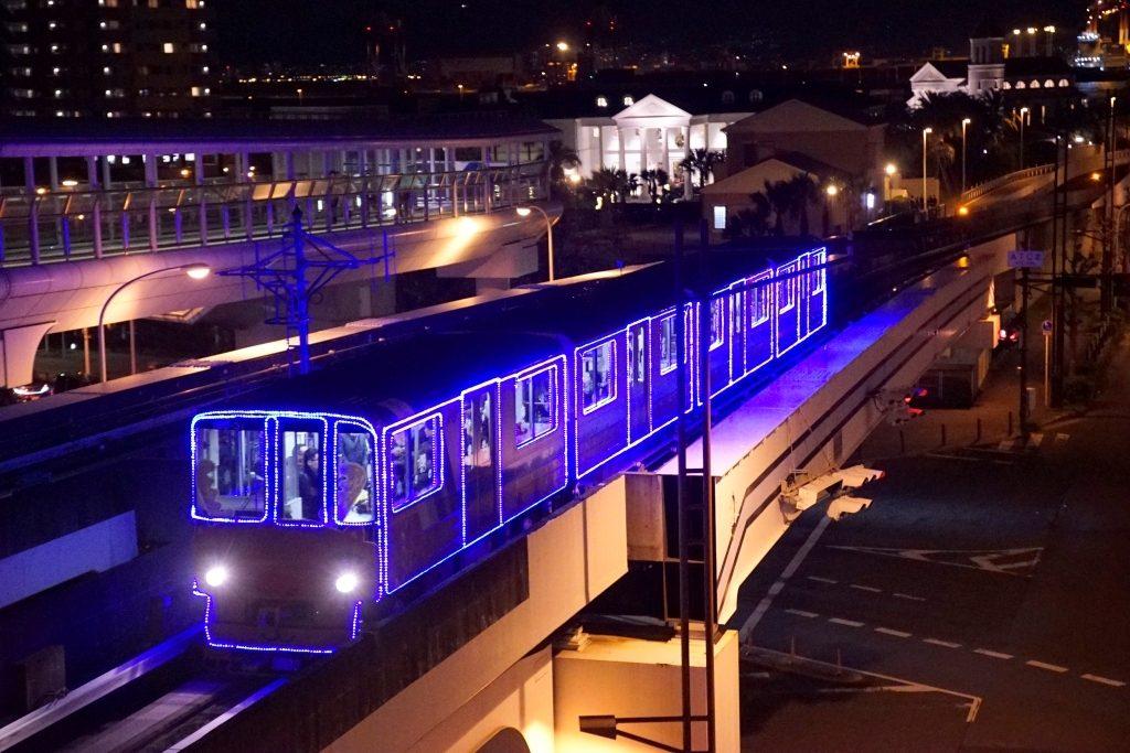 【ニュートラム】12月10日よりイルミネーション列車を今年も運行へ