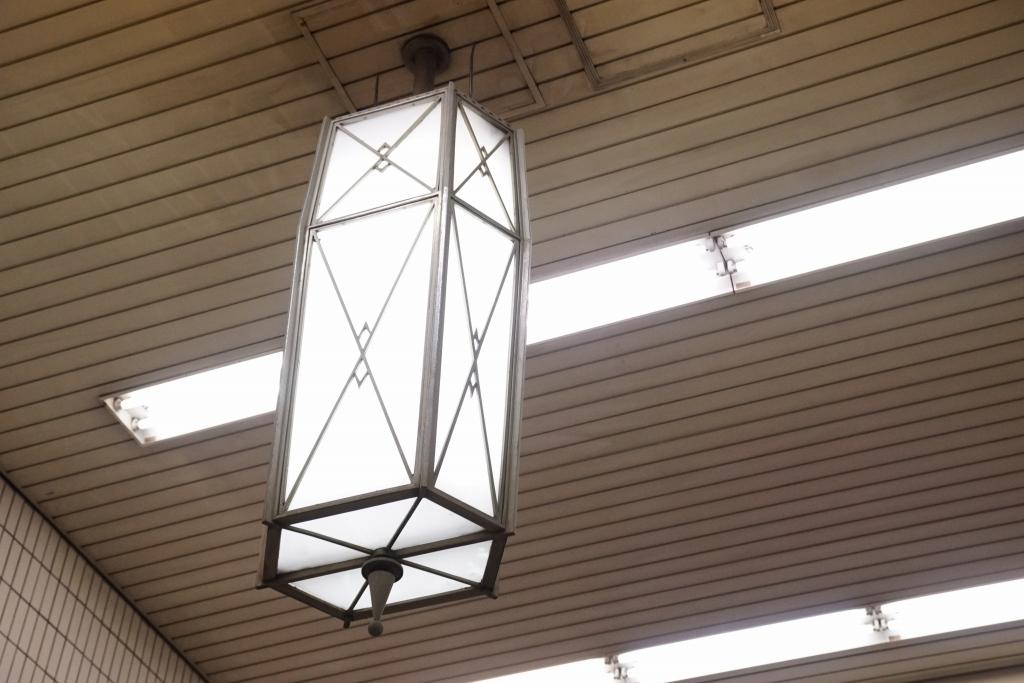 【コラム】昭和13年から見守る、天王寺駅のシャンデリア
