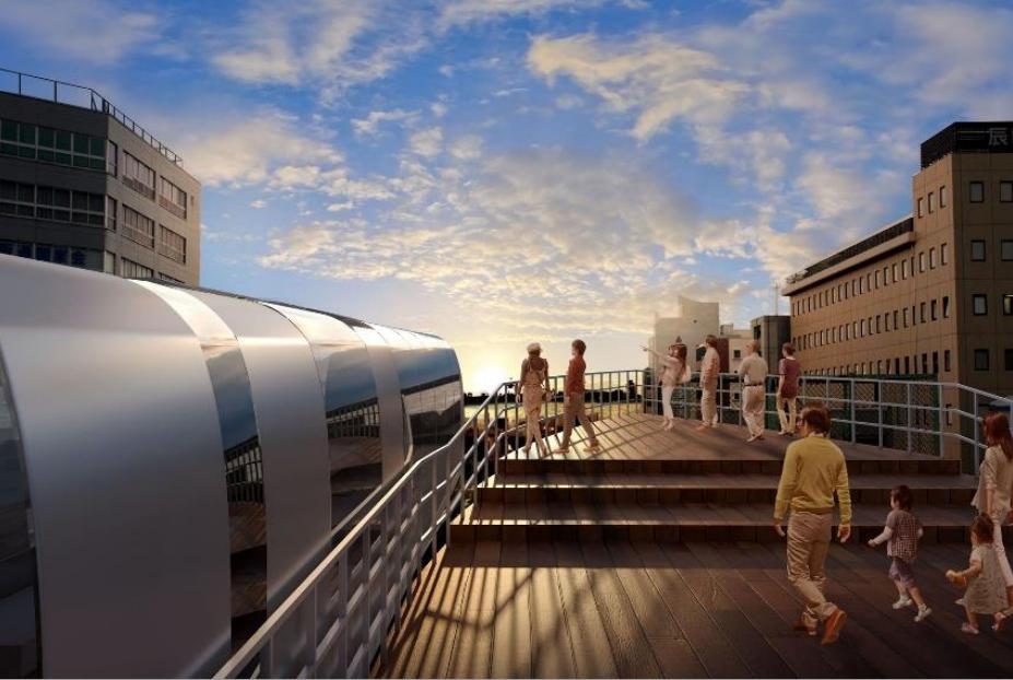 【中央線】大阪港~森ノ宮までの6駅を大規模改革!イメージ図を発表