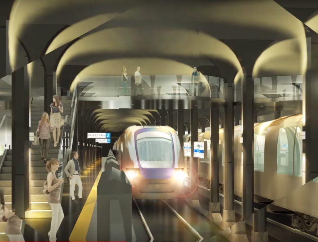 【御堂筋線】新大阪~梅田~天王寺までの9駅を大規模改革!イメージ図を発表