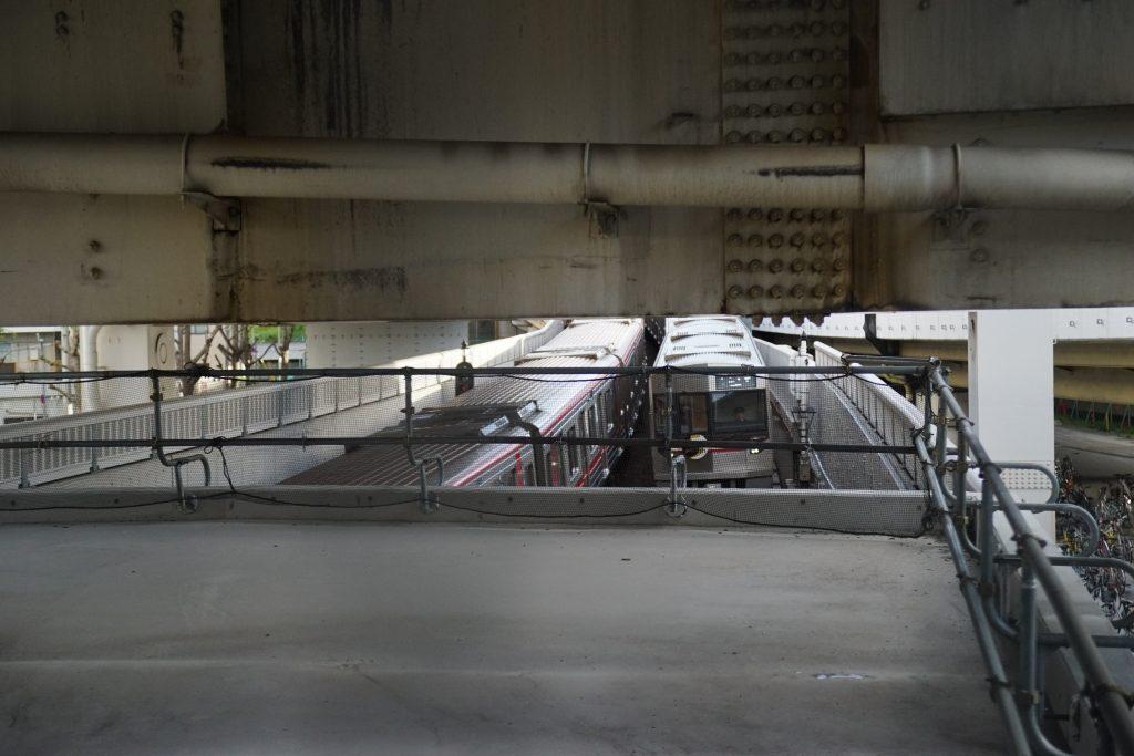 【2019.4】中津-西中島南方間、U型隧道の津波・浸水対策工事の状況…新たな隧道が作られる