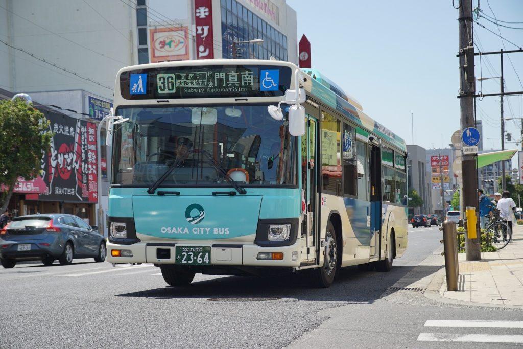 【大阪シティバス】2019年度に新車20台を導入予定