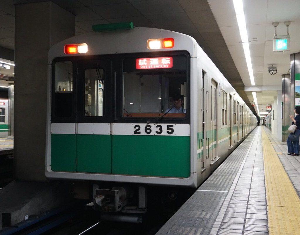 【中央線】2635F(20系35編成)が出場・試運転を実施