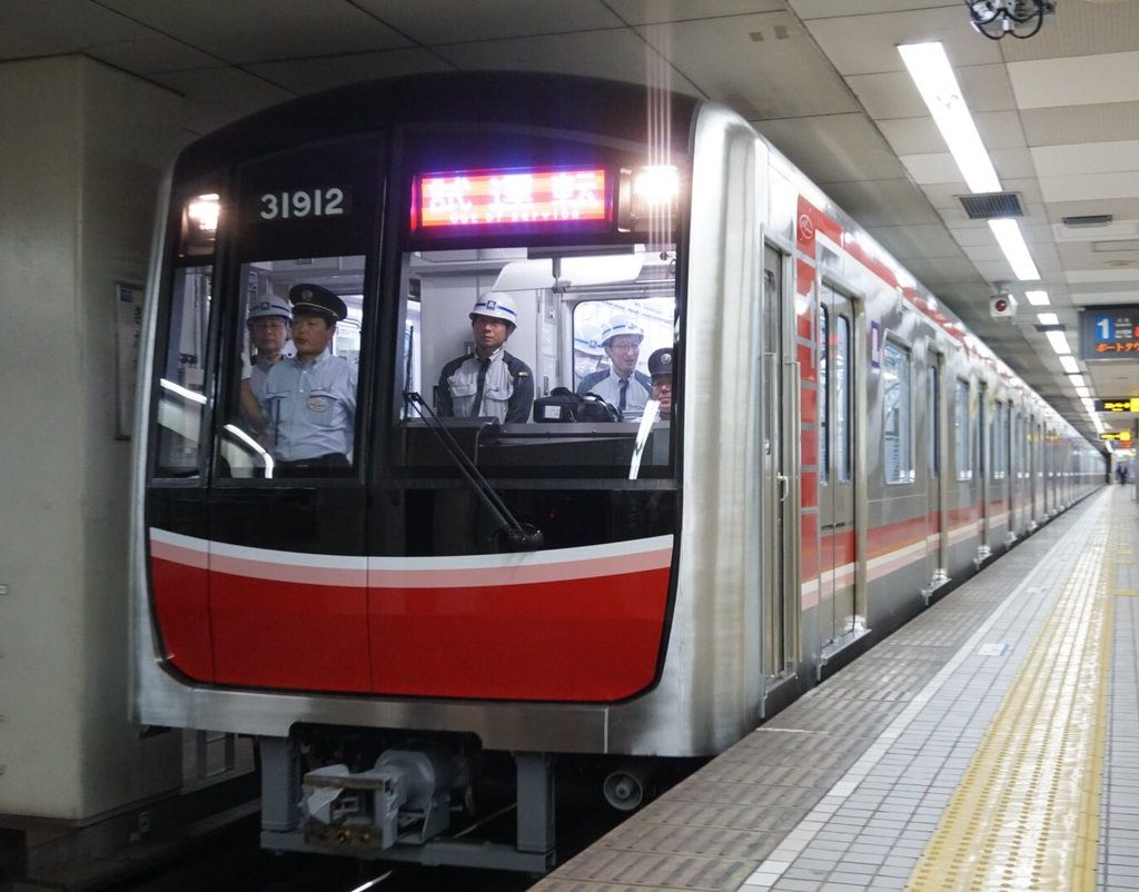 【御堂筋線】新型車両、31612Fが試運転を実施!