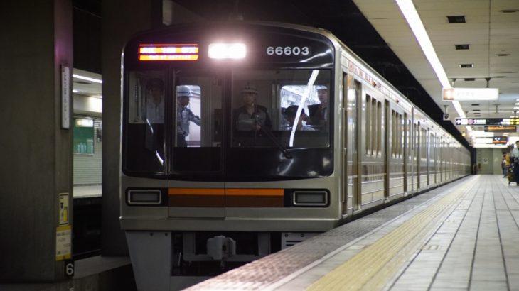 【堺筋線】66系03号車(66603F)が出場・試運転を実施