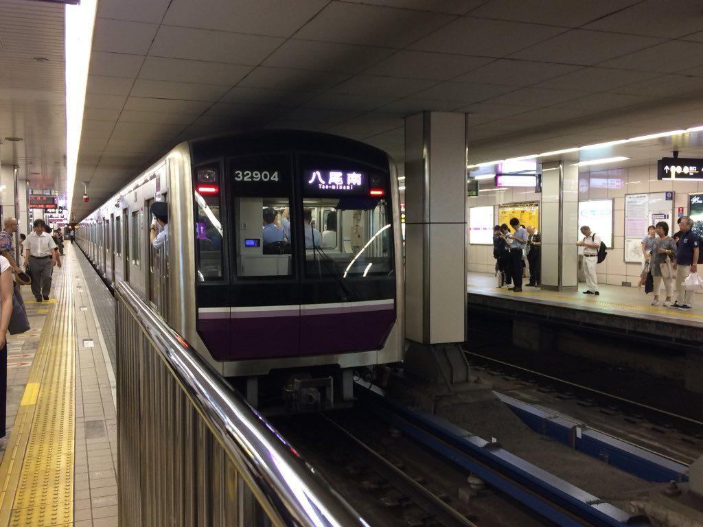 【谷町線】ホームドア設置準備に伴い、東梅田駅の停車位置を9m前方へ変更開始