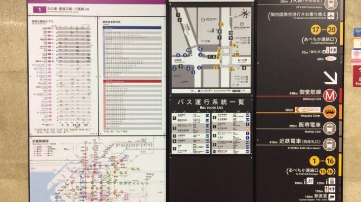 【谷町線/9月】天王寺駅サインシステムリニューアルがほぼ完了