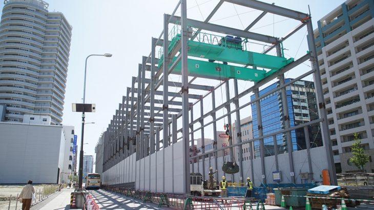 【北大阪急行】2023年開業予定の「箕面萱野」「箕面船場阪大前」に行ってきました