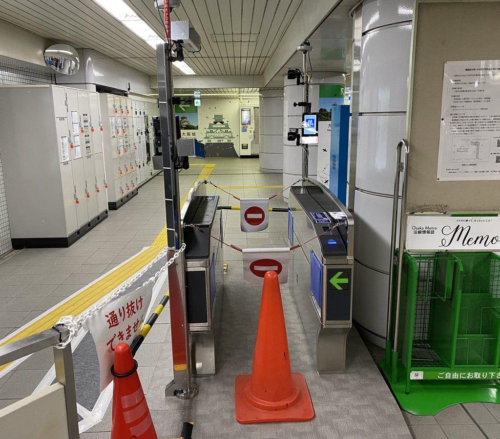 【オムロン製】森ノ宮駅に顔認証改札を設置!予定の4駅全てが出揃う