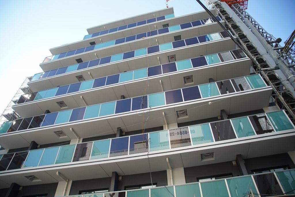 大阪メトロ初の新築マンション「Metrosa 弁天町」を見てきました
