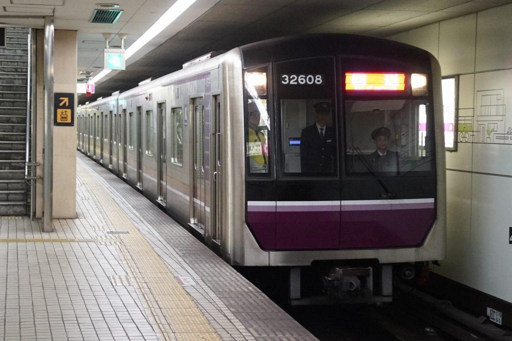 【谷町線】東梅田駅へホームドア輸送列車を運行!両線共に設置が完了