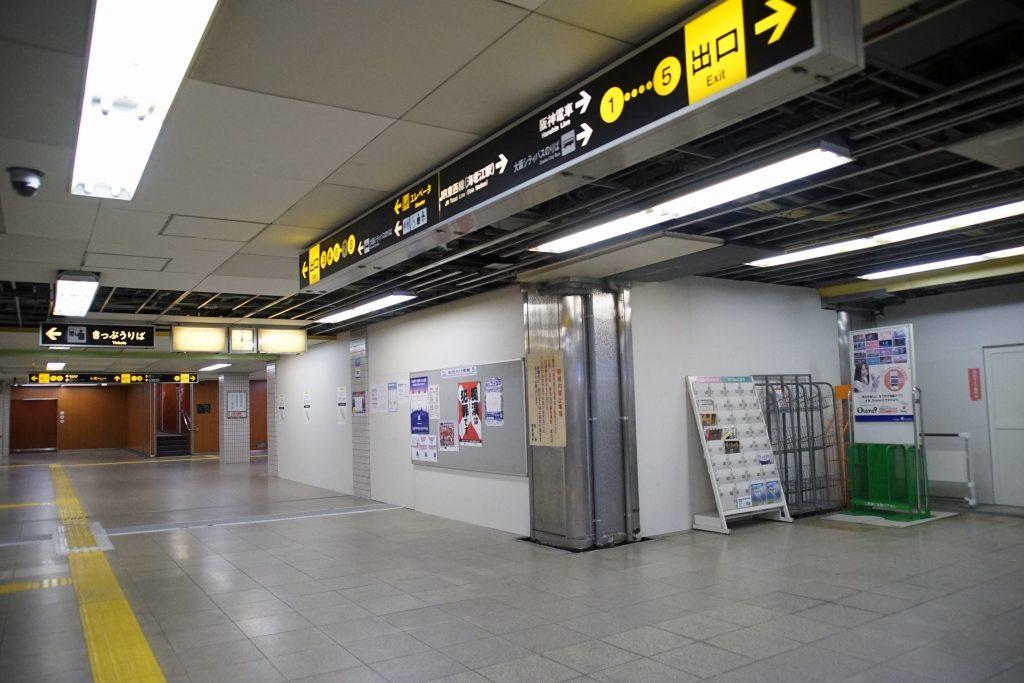 【千日前線】野田阪神駅の南北改札を閉鎖・出口専用改札を改修へ…2番線に動き?