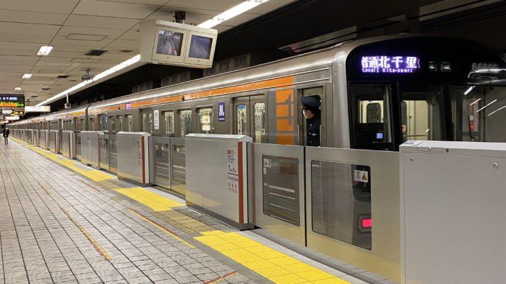 【堺筋線】堺筋本町駅のホームドア、稼働開始!堺筋線では初