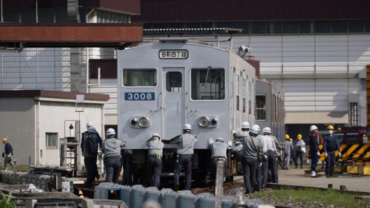 【陸送】森ノ宮検車場で保管されていた30系が緑木検車場へ!いったい何が…?