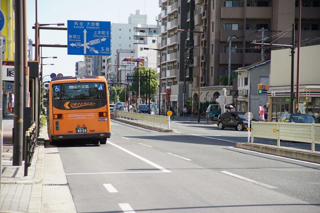 【いまざとライナー】「大型交差点前で邪魔…」と市民の声。実際はどうなのか?