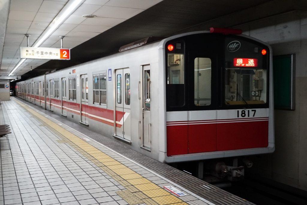 【御堂筋線】10A系17編成(VVVF車)が緑木検車場へ…10A系2本目の廃車へ