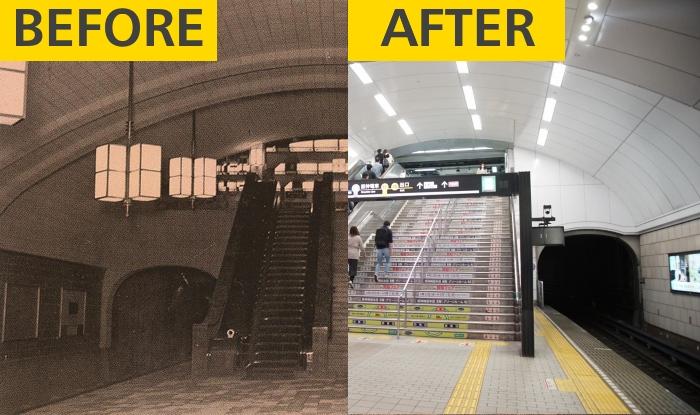 【定点観測】2020年と1930年代、写真で感じる大阪地下鉄の80年