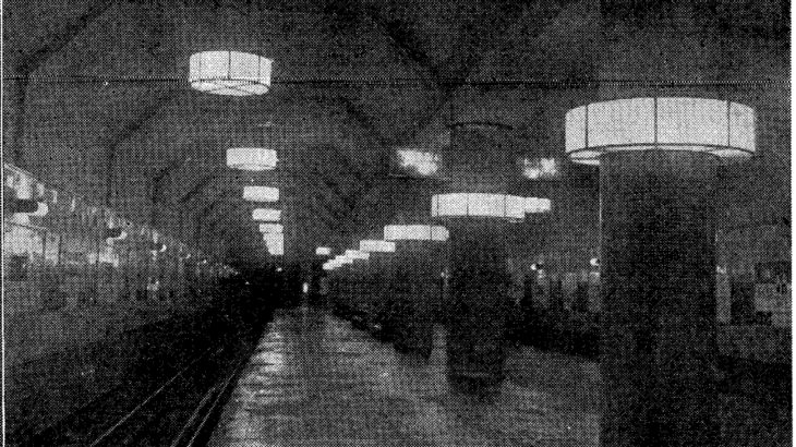 【昔の地下鉄は暗かった?】1940年の御堂筋線の明るさを調べてみました