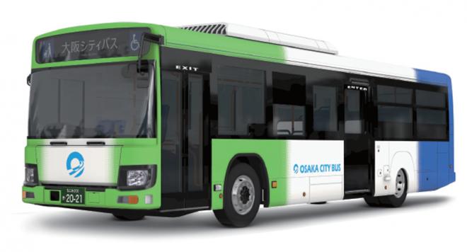 【速報】さよなら市バスカラー…大阪シティバス、全534台の車両を41年ぶりに新デザインへ変更