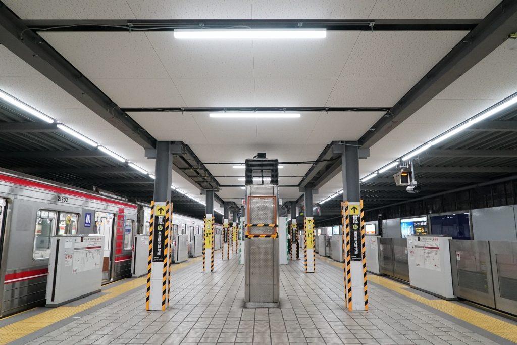 【2020.9】工事開始から2年半!御堂筋線心斎橋駅グランドリニューアルの状況