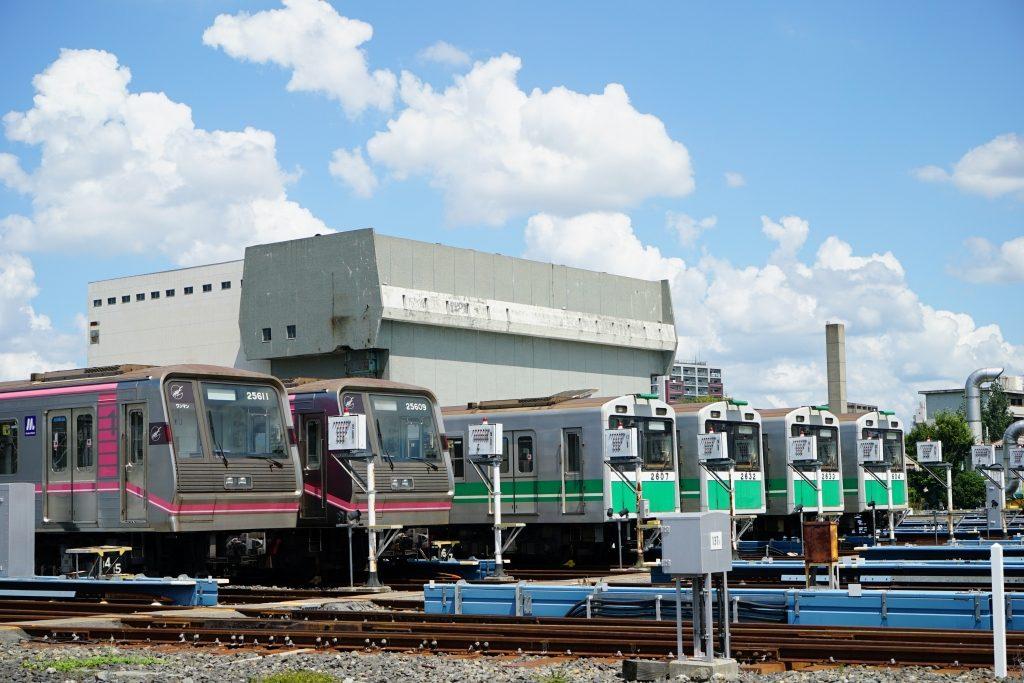 大阪市営地下鉄の初期車庫構想とは