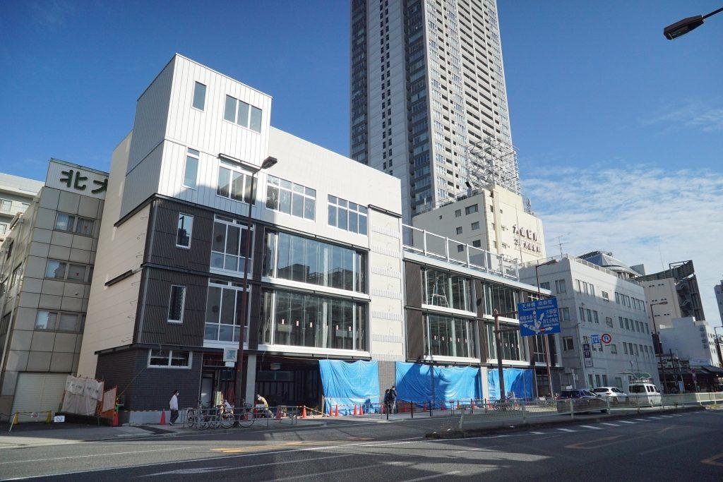 【2021年2月開業】天神橋筋六丁目駅に隣接する、新築商業ビルを見てきました