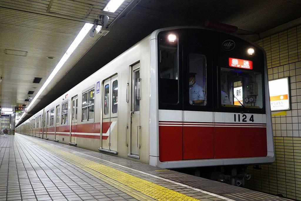 【御堂筋線】江坂駅へのホームドア輸送列車が運行される…担当は10A系24編成