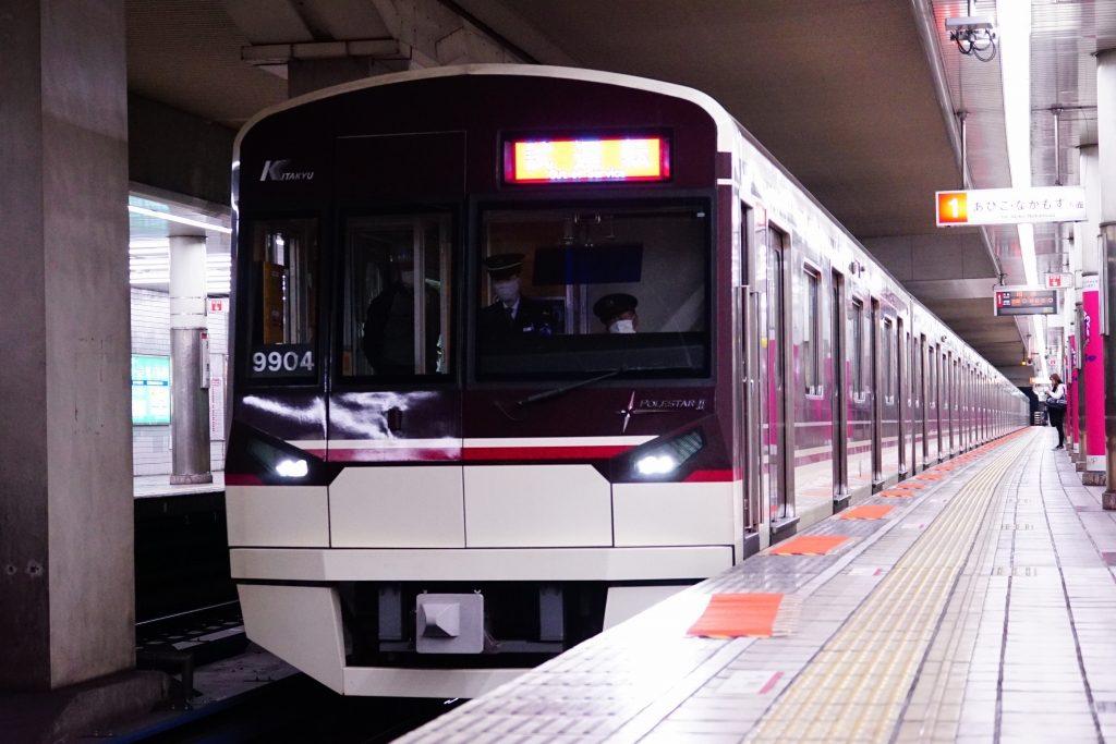 【北大阪急行】9004Fが大阪メトロ内試運転