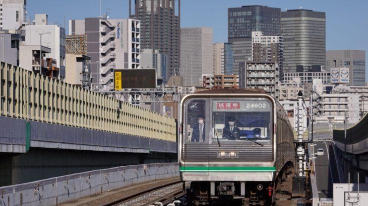 【中央線】24系02編成を用いた「撮影用列車?」を運転