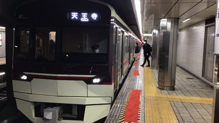 【御堂筋線】停電により『臨時天王寺行き』を北急車でも運転!