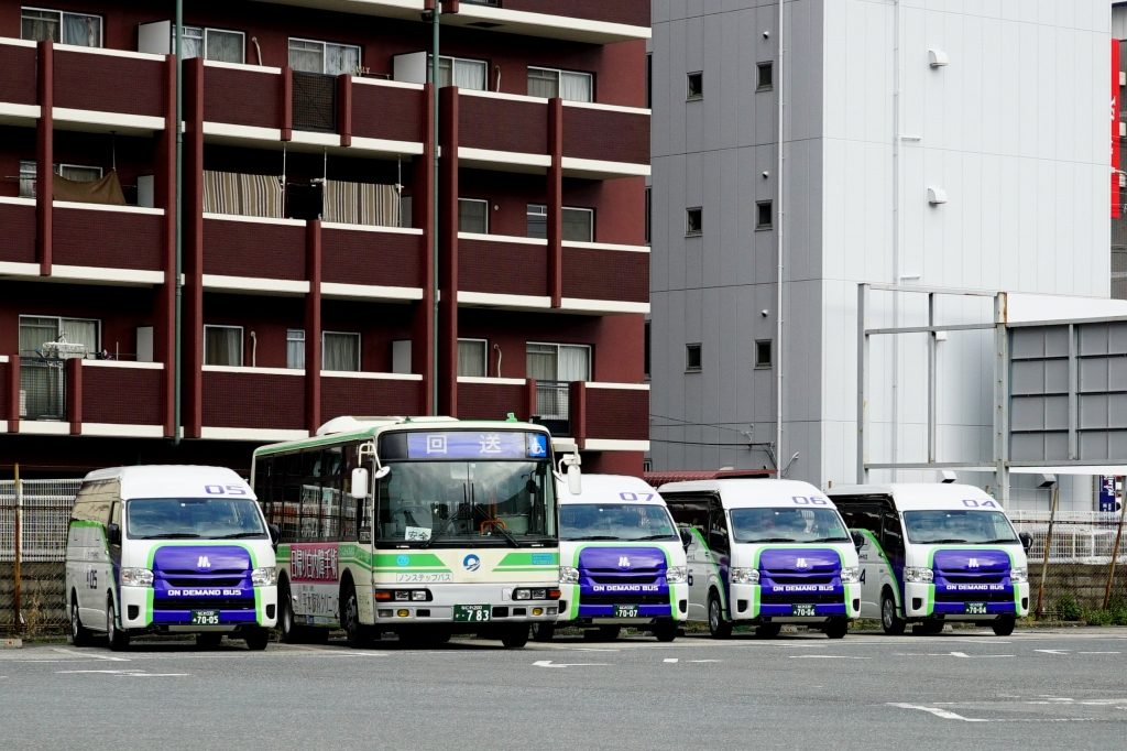 【呼べば来るバス】オンデマンドバスの試運転を実施中