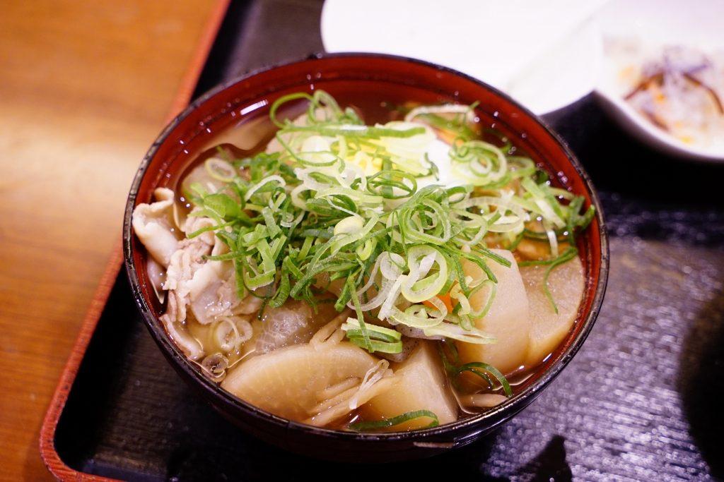 大阪商人の伝統料理「船場汁」を食べてきました