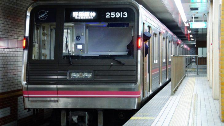 【千日前線】車内放送装置、他路線に遅れてようやく更新